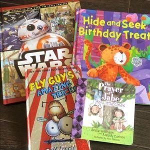 4 kids hardcover books